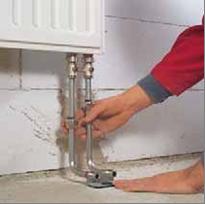 Трубки для подключения радиатора отопления